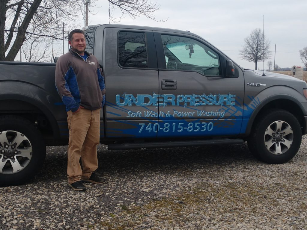 Owner of Under Pressure Soft Wash and Power Washing